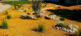 Xeriscaping  by Rising Sun Landscaping & Maintenance