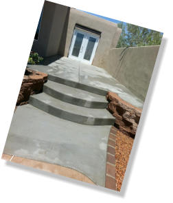 Patio, steps, retaining wall, paver highlights
