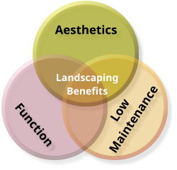 Aesthetics Low Maintenance Function Landscaping Benefits